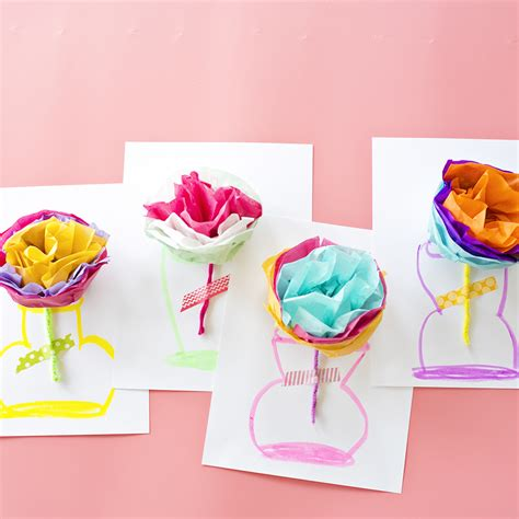 How To Make Paper Flowers For Cards - how to make paper flowers for cards step by step