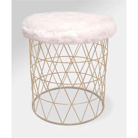 mccarty modern furry  vanity stool reviews allmodern