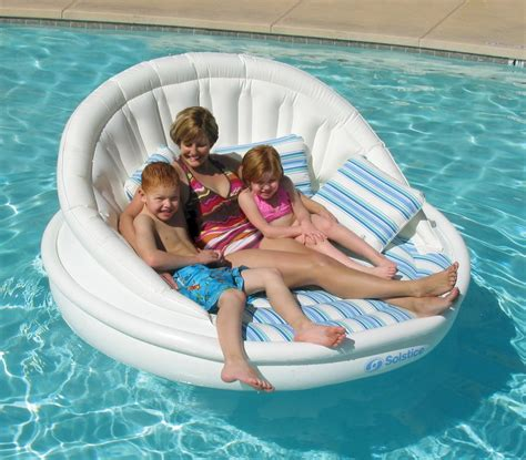 swimming pool sofa 15 best inflatable outdoor sofas perfect for backyard fun