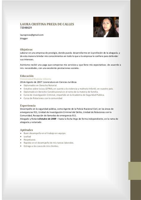 Modelo Curricular Marcela Lawler Curriculum Vitae