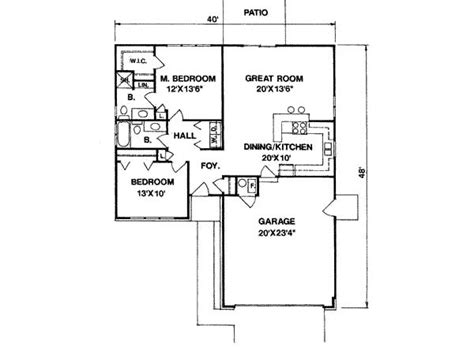 1100 square 3 bedrooms 2 batrooms on 1 levels