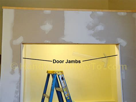 Install Door Jamb by How To Install Door Jambs And Casing For A Bi Fold Door Handymanhowto