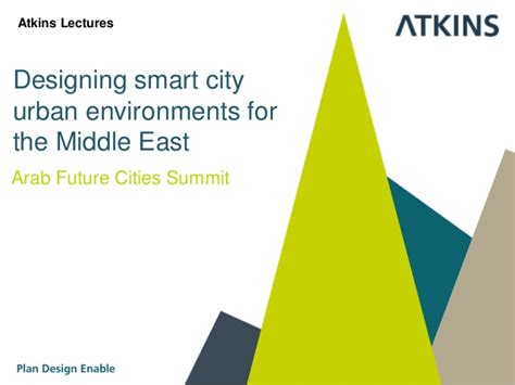 designing smart designing smart city environments for the middle east