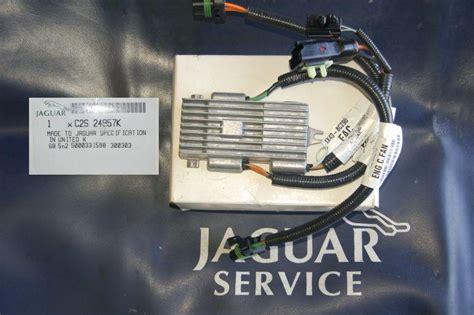 jaguar x type cooling fan module x type radiator fan module jaguar forums jaguar