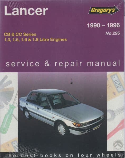 mitsubishi lancer 1990 1996 gregorys service repair manual sagin workshop car manuals repair