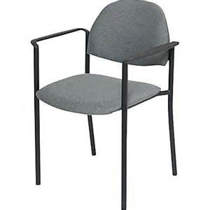 Olefin Upholstery Global Custom Comet Stacking Reception Chair With Arms