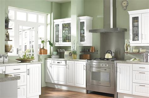 Decorating Ideas B Q It White Country Style Kitchen Ranges Kitchen Rooms