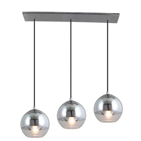3 Light Island Pendant Artcraft Three Light Half Chrome Island Pendant Ja798