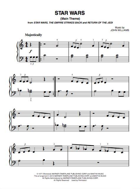 Buku Piano Really Easy Piano Themes 1 wars theme piano sheet pdf bluebird