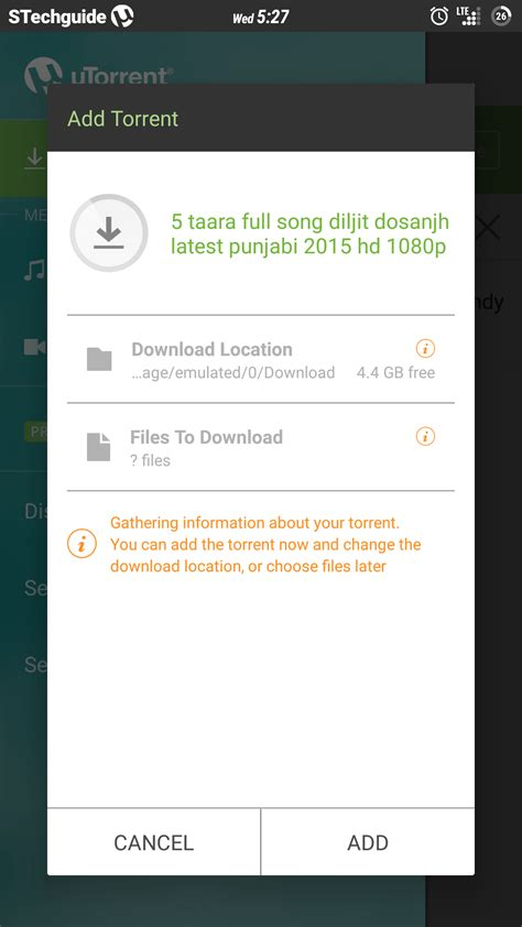 utorrent for android 5 best torrent app for android 2015