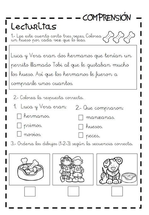 lectura y preguntas de comprension lectora primaria lecturas infantiles y cuentitos para trabajar la