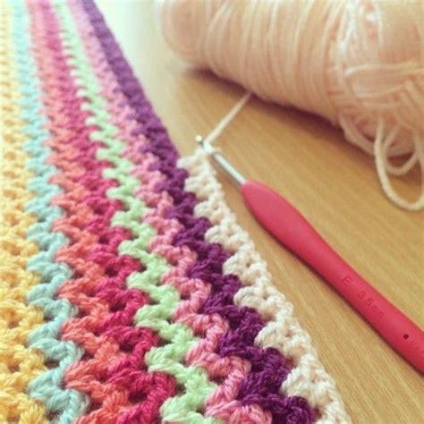 crochet pattern v stitch beautiful v stitch crochet instagram share from forever