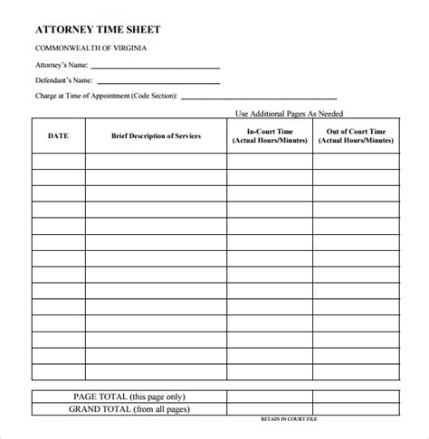 attorney billable hours template hardhost info