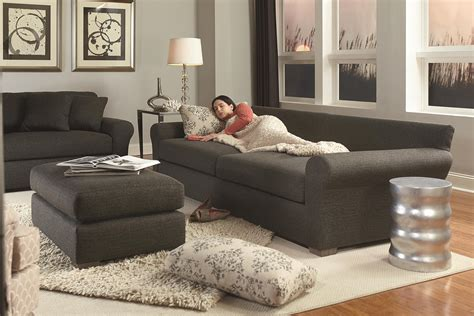 best home furnishings transitional wide sofa with