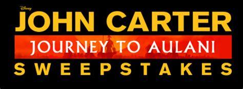 Aulani Hawaiian Vacation Sweepstakes - win a disney vacation to hawaii in the john carter journey to aulani sweepstakes