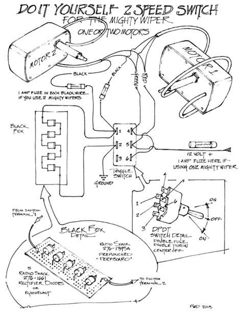 mighty wiper wiring diagram raingear wiper systems