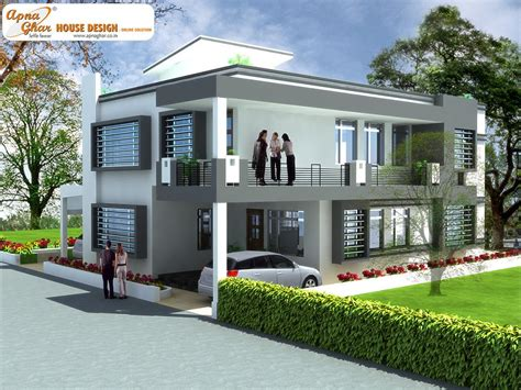 house duplex design duplex house design apnaghar house design