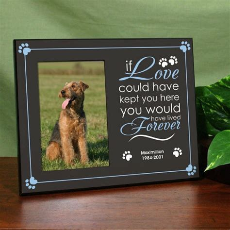 memorial frame personalized memorial frame printed if could save you remembrance frame ebay