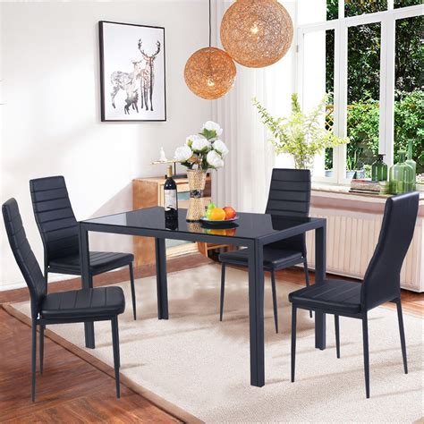 black dining room chairs set of 4 dining room inexpensive dining room chairs at