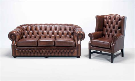 Brown Leather Chesterfield Style Sofa Sofa Menzilperde Net Chesterfields Sofa