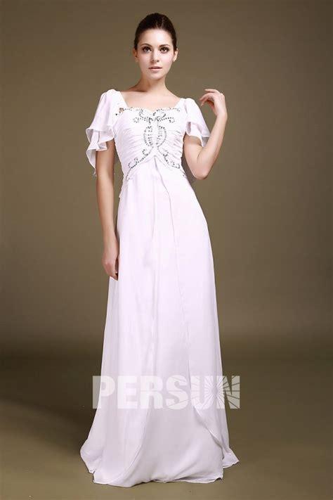 offerte banche on line robe de soir 233 e blanche et longue en mousseline 224 mancheron