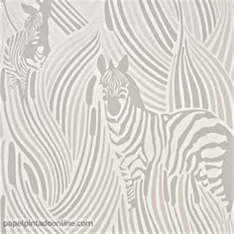 Zebra Wallpaper 5143 by Papel Pintado Vallila Sarastus 5147 2 Con Hojas De