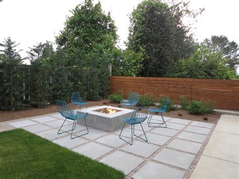 Designers Patio Concrete Patio Designs Patio Contemporary With Built In Bench Built In Bench Pit
