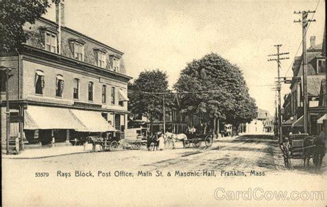 rays block post office and masonic