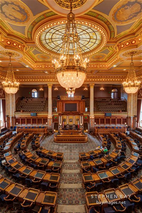 photo house of representatives chamber at the iowa state