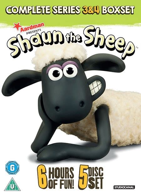 Dvd Shaun The Sheep Season 3 Complete Series shaun the sheep complete series 3 and 4 box set dvd