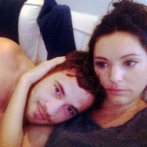 selfie bedroom kelly brook admits she doesn t know if cbb star david mcintosh is the one mirror online