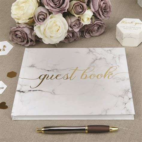 guest book with pictures wedding guest book with gold foil by 2by2 creative