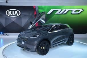 Electric Vehicles For 2018 On The 2018 Kia Niro Ev On Electric Cars