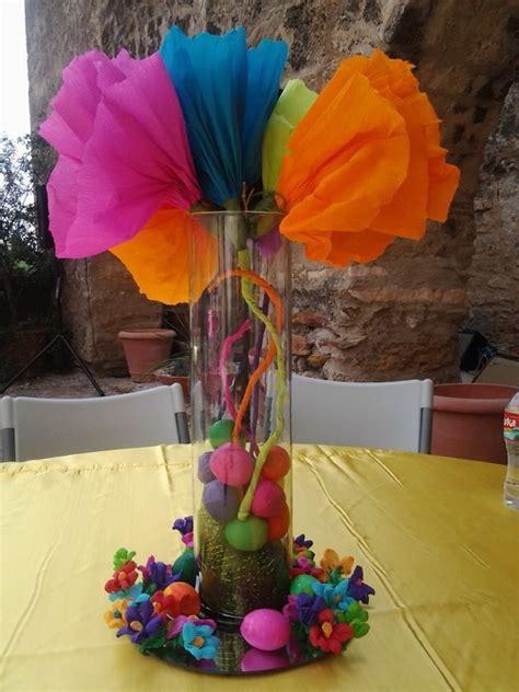 Beautiful center pieces for a dia de Los muertos wedding