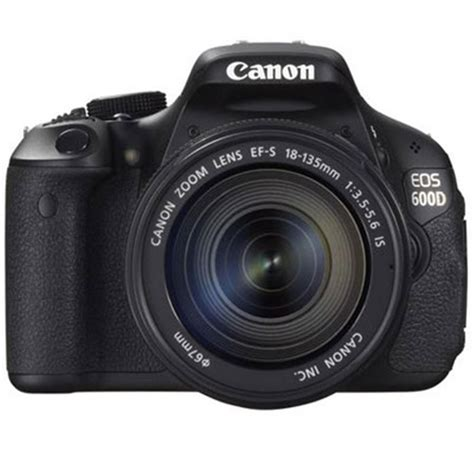 Kamera Dslr Canon Eos 600d Kit Lensa 18 55mm Is canon eos 600d digital slr and 18 135mm is lens kit