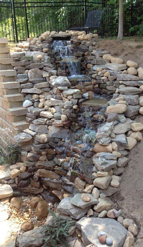 backyard waterfalls best 20 garden waterfall ideas on pinterest