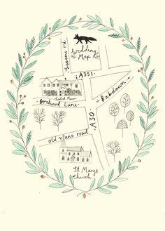 how to draw a map for wedding invitation maps images wedding and on how to draw a map