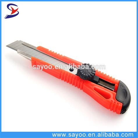 durable knives durable paper cutter knife with quality plastic