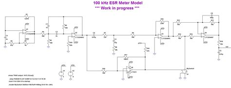 ltspice germanium transistor model esr meter schematic diy crafts