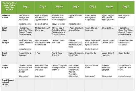 printable 30 day meal planner printable weekly meal planner template 45 printable weekly