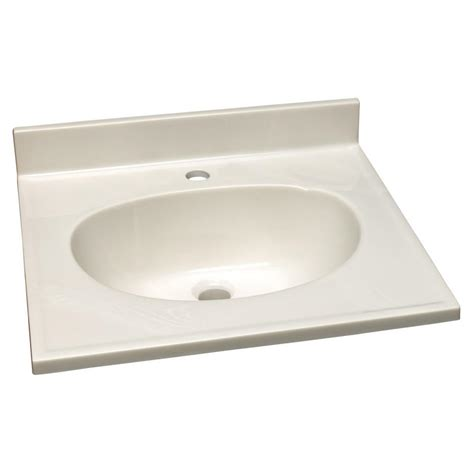 design house vanity top design house 25 in w cultured marble vanity top with white on white bowl 551051 the home depot