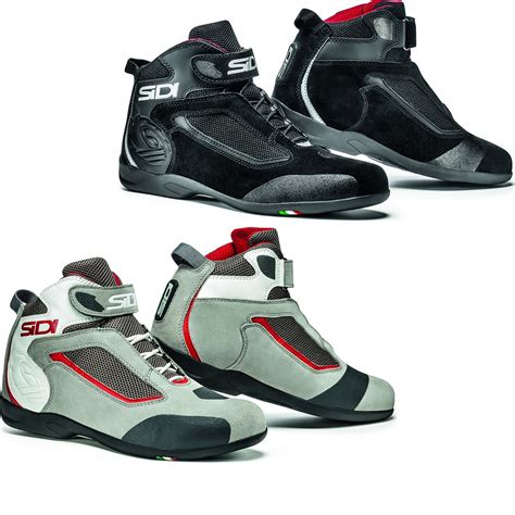 low cut motorcycle sidi gas leather motorcycle boots motorbike low cut urban