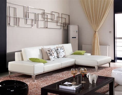 White Leather Sofa Living Room Ideas Living Room L Shaped White Leather Sofas With Fold Up Backrest And Arm Also Cushion Added By