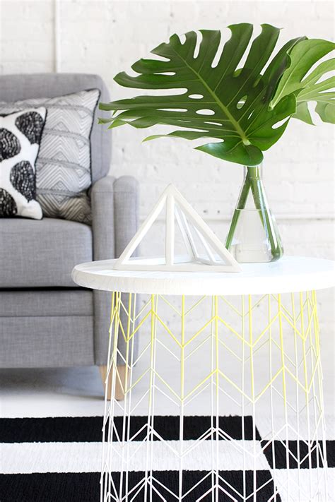 wire basket side table 187 my diy wire basket side table