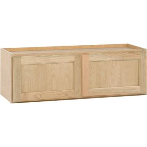 home depot kitchen wall cabinets unfinished kitchen wall cabinet w3612ohd home depot