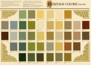 sherwin williams heritage historic house paint colors pallette house ibles