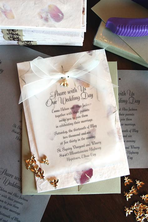 Petal Papers Wedding Invitations by How To Create Wedding Invitations That Only Look Expensive