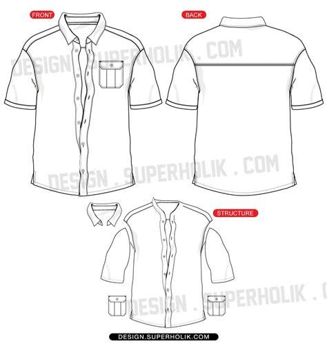 8 vector button up shirt images shirt button vector