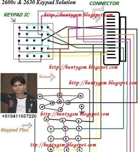 Keypad Nokia 2600 nokia 2600c nokia 2630 keypad ways mobile repairing
