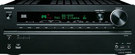 onkyo tx nr  channel networked thx receiver preview